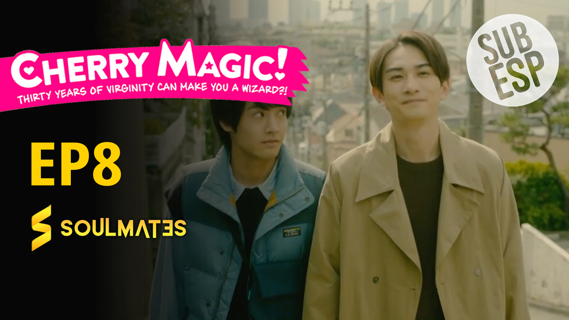 Cherry Magic! 30sai made Dotei dato Mahotsukai ni Narerurashii: T1-E8